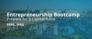 Entrepreneurship Bootcamp-Erbil Iraq 2019